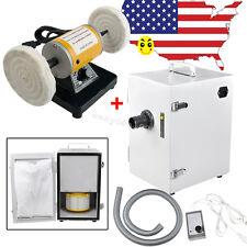 Dental Lab Mini Polishing Polisher Machine Digital Dust Collector Vacuum Cleaner