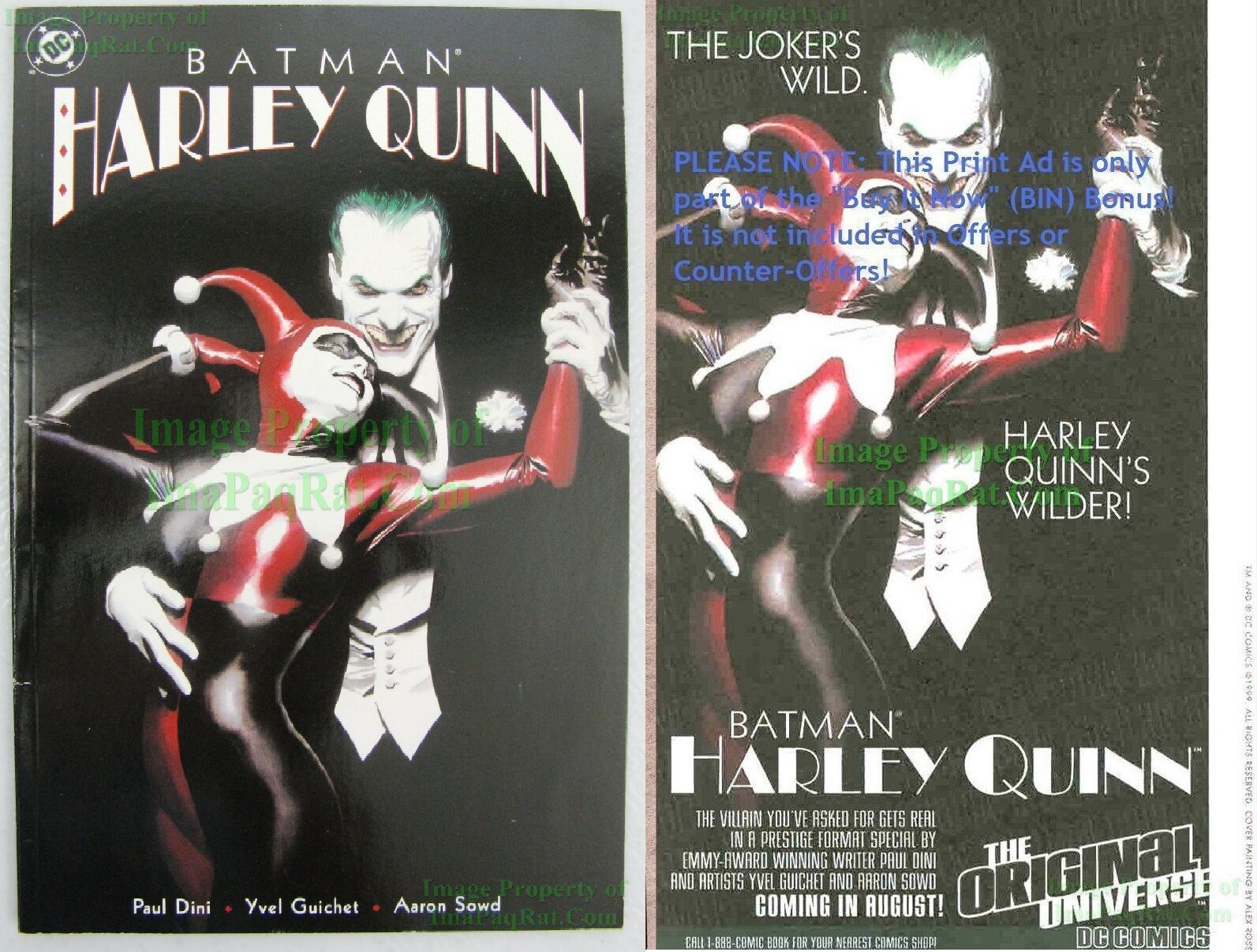 HARLEY QUINN #18 ORIGINAL SERIES HTF SEE MY OTHERS!