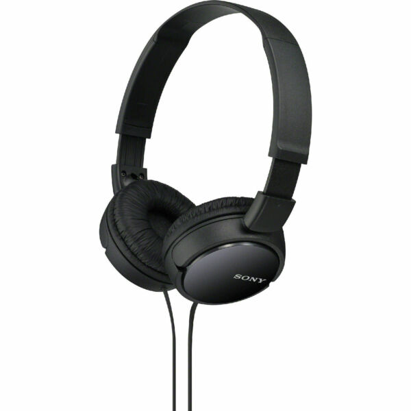 Headphones wireless for gym beats - Sony MDR-ZX300AP/B - headset Overview