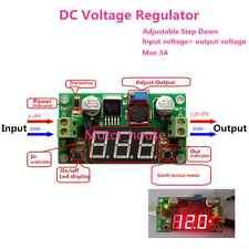 LED Display LM2596 Module DC 4V-40V to1.5v-37V 3.3V 5V 12V 3A Voltage Regulator
