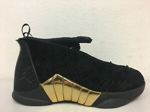 858cc6bd9bd Nike Air Jordan 15 Retro DB (GS) Doernbecher Black Gold BV7110-017 ...