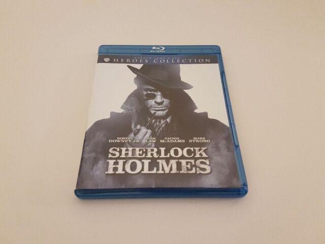 DVD Blu-ray Sherlock Holmes Robert Downey jr