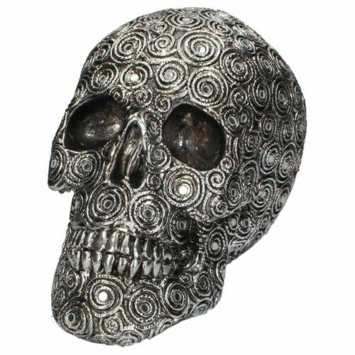 Spiral Reflection Skull 15cm// 22cm Figurine Gothic Ornament Nemesis Now FREE P/&P
