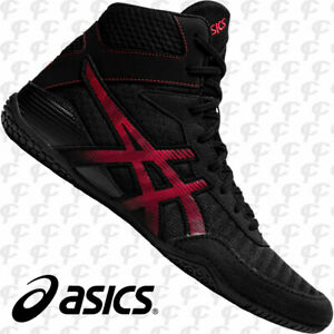 Asics Matcontrol 2 Men's Wrestling Shoes Black / Red - Free Ground ...