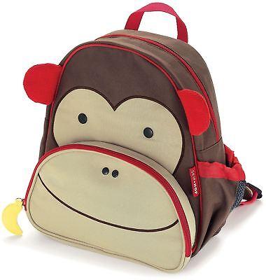 Generoso Skip Hop Zoo Bambino Back Pack-scimmia Bambini Vestiti Accessori Borse Bn-mostra Il Titolo Originale