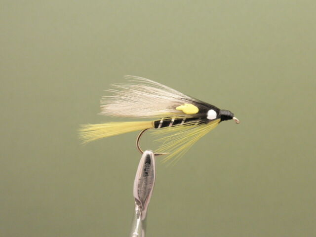 6 Pack of Black Ghost Trout Flies,Lures, Choice of sizes available