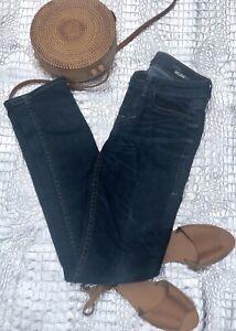 William-Rast-Women-039-s-Jerri-Ultra-Skinny-Jeans-Size-26-Low-Rise-Blue-Stretch-Dark