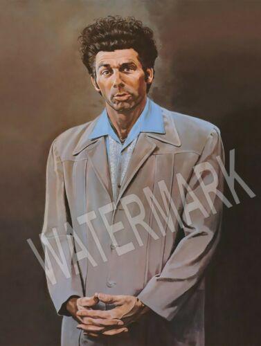 Cosmo Kramer Seinfeld Portrait High Quality Metal Magnet 3 x 4 Fridge 9005