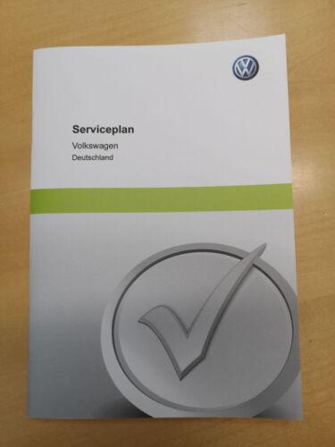 edizione 05.2015 VW Auto Originale Manuale di servizio piano di assistenza tedesco ** NUOVO **