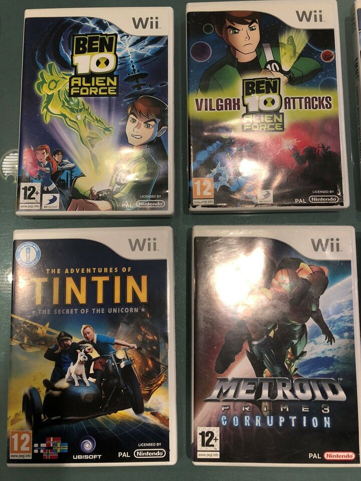 Action spil - Wii, Nintendo Wii, action