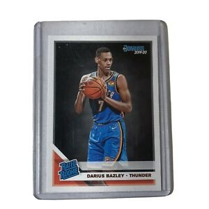 2019-20-Donruss-Darius-Bazley-Rated-Rookie-Card-RC-249-Oklahoma-City-Thunder