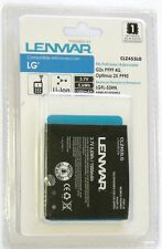 CLZ453LG LENMAR LG G2x Optimus 2X,3D P920 P999 4G LGFL-53HN Replacement Battery