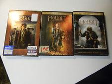 THE HOBBIT- DVD LOT OF 3