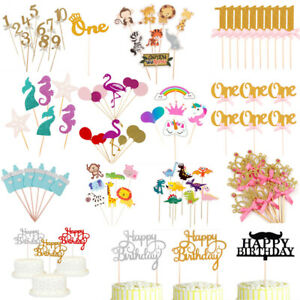 Paper-Cake-Topper-Baby-Shower-Happy-Birthday-Party-Cupcake-Food-Dessert-Decor