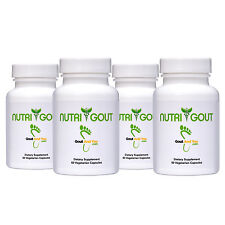 Uric Acid Support Formula by Goutandyou - 500 MG 60 Vegetarian Capsules
