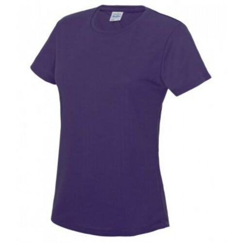 Womens JC005 T LADIES WICKING T-SHIRT Cool Girlie AWDis 100/% Polyester Tee