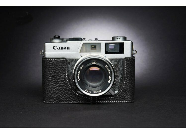 Leather Half Case for Canon QL17 GIII (choice of colours) - BRAND NEW