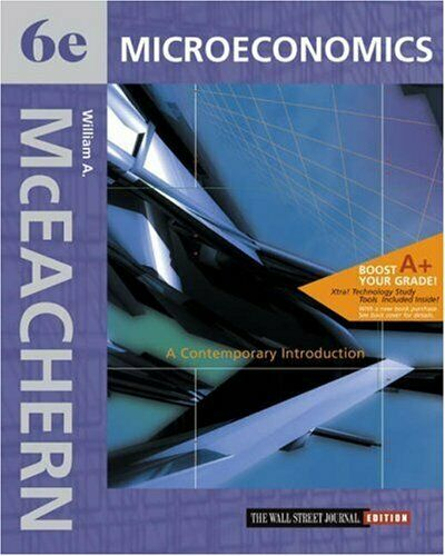 Microeconomics : A Contemporary Introduction by McEachern, William A.-ExLibrary