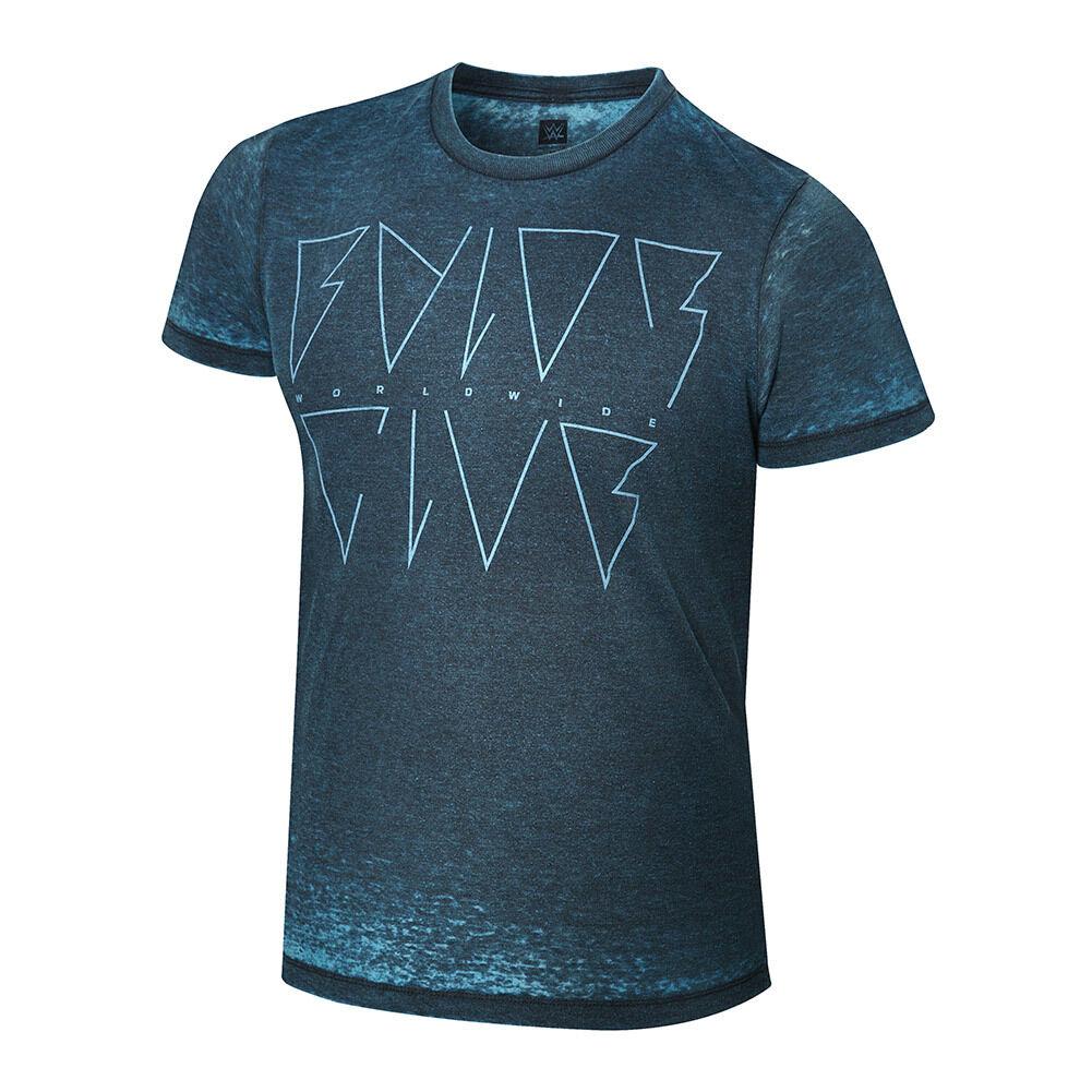 Official WWE - Finn Bálor   Bálor Club Worldwide  Acid Wash T-Shirt