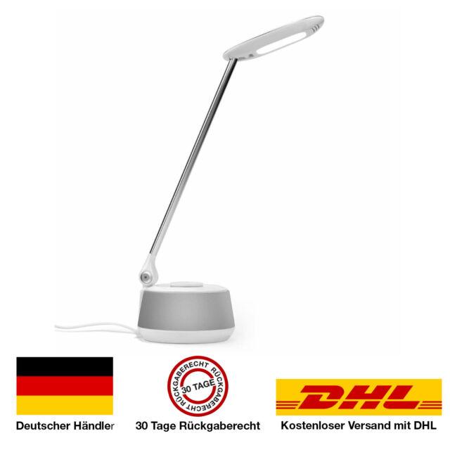LED 5W Tischlampe Dimmbar USB-Anschluss RGB Bürolampe Tischleuchte Leuchte Lampe