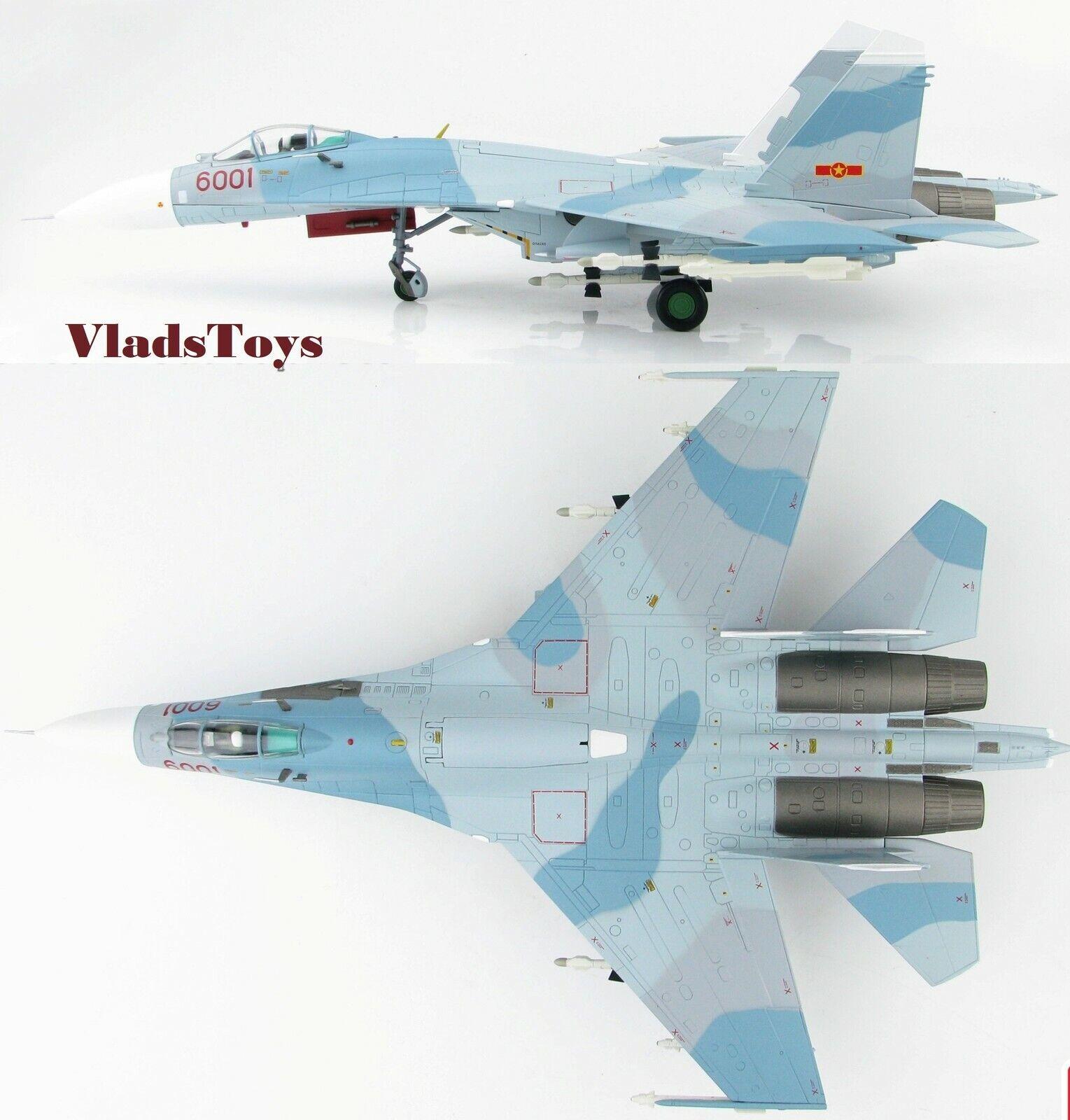 servizio premuroso Hobby Master 1 72 Su-27sk Flanker-B Vpaf 370th Fgt Divisione Divisione Divisione Rosso 6001 Vietnam  acquisto limitato