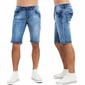 312cc852b0f59d Pantaloncini jeans uomo shorts denim pantaloni bermuda chiari ...