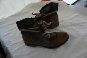 SCHICKE RIEKER DAMEN Winter Schuhe Stiefel Stiefelette Boots