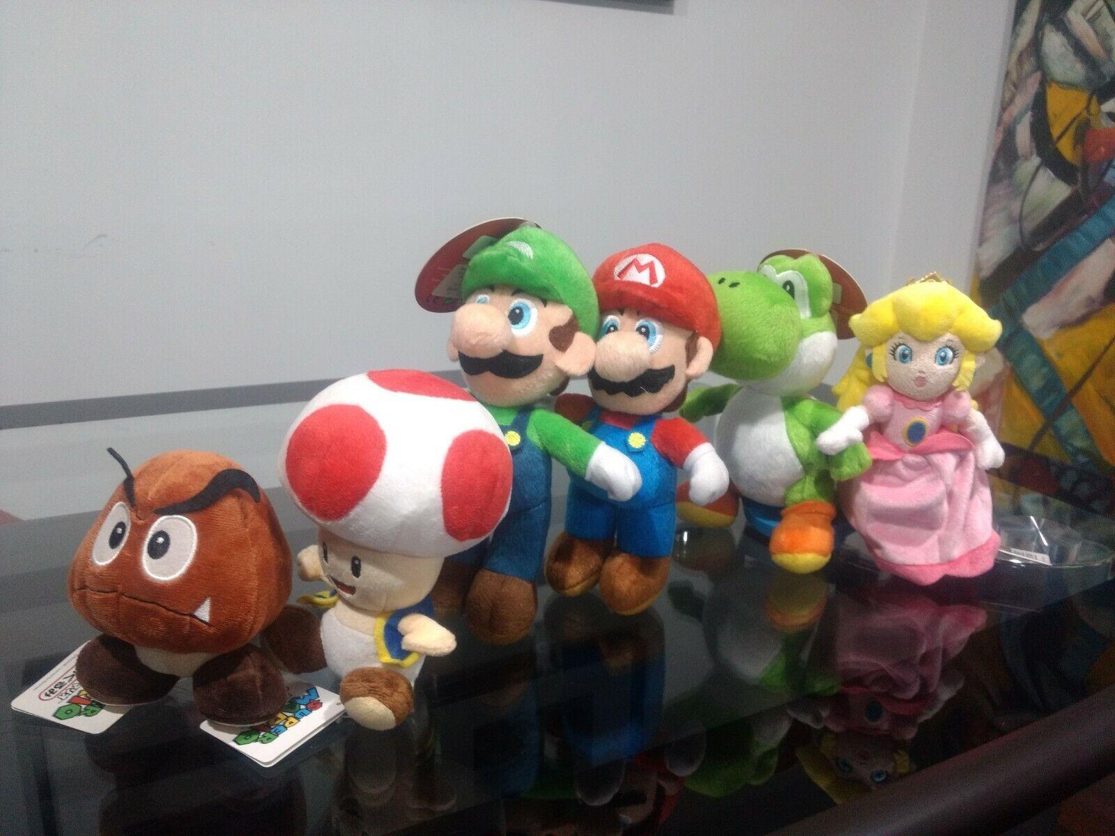 Nintendo Super Mario Icons 6 Plush Fire Flower For Sale Online