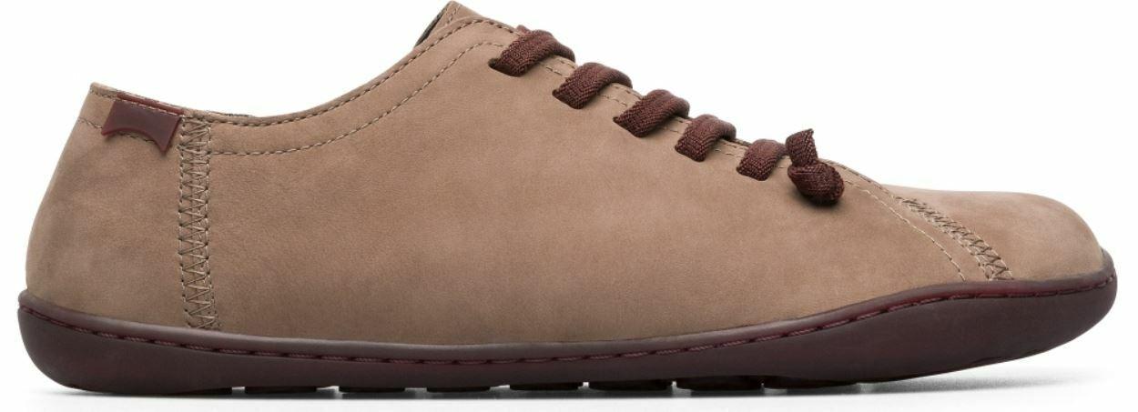 Camper peu cami 20848 chocolate, zapatos de mujer marrón.