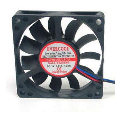 Evercool EC5010M05CA 50mm x 10mm 5V Ball Bearing Cooling Fan 3 pin connector