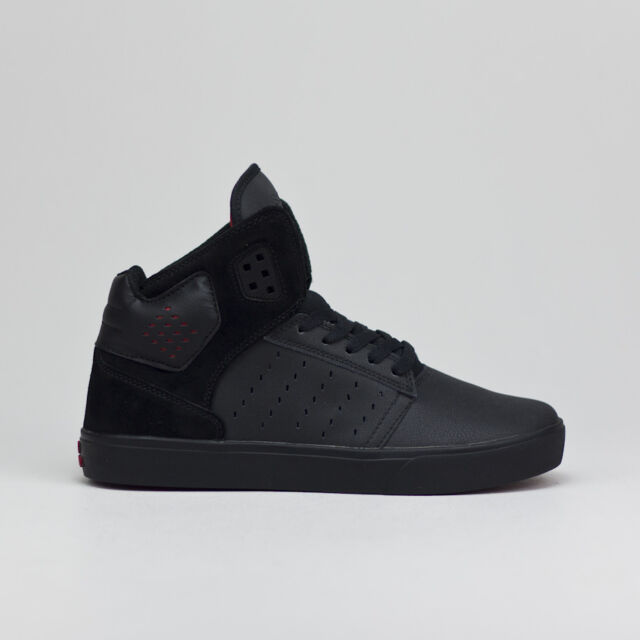 Supra Atom Skate Shoes Trainers new in box Black/BlackUK Size 7,8