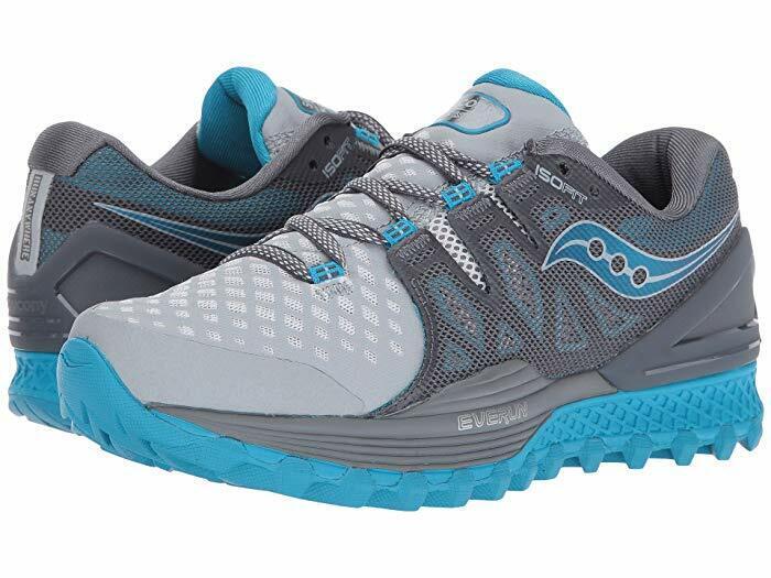 Saucony Wouomo  Xodus Iso 2 Running scarpe grigio blu  varie dimensioni