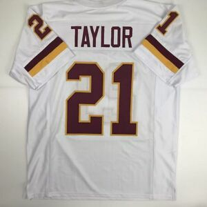 980d0458eed Image is loading New-SEAN-TAYLOR-Washington-White-Custom-Stitched-Football-