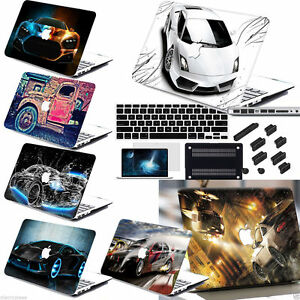 4in1-Car-Painted-Rubberized-Hard-Case-Cover-For-Macbook-Pro-Air-11-034-12-034-13-034-15-034