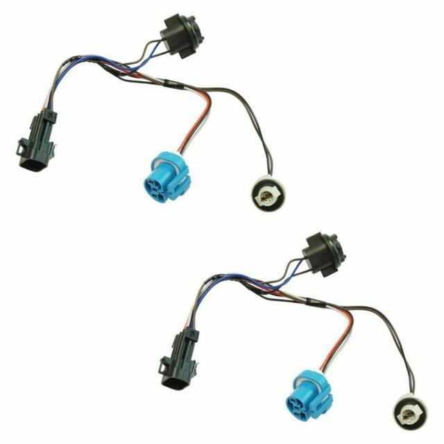 Dorman Headlight Wiring Harness Set Pair 2 For Chevy