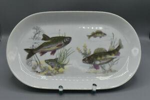 Kahla-grosser-Fischteller-Servierplatte-Servierteller-mit-Fischmotiv-32-5-cm