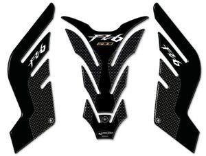 Adesivi-serbatoio-in-resina-stickers-3D-per-moto-compatibili-Yamaha-FZ6-carbon