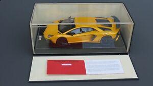 Lamborghini Aventador LP 750-4 SV  MR 1:18 MEGA  RARE  LIMITED 4 PCS !!!