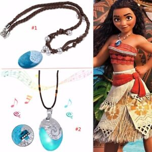 Novelty & Special Use Reasonable Moana Necklace Costume Cosplay Props Princess Heart Of Te Fiti Necklaces Pendant