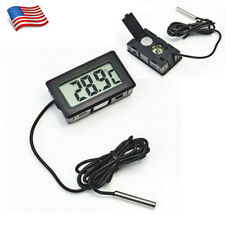 Digital Probe Embedded Thermometer For Fridge Home Brew Cook Temperature Tester