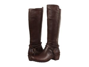 Image is loading UGG-Women-039-s-Cierra-Lodge-Leather-Boot-