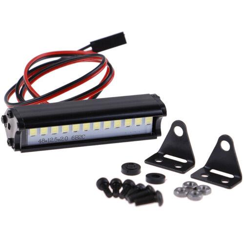 55mm RC LED Light Bar LEDs Lamp 1:10 RC Car Part for 90046 90048 SCX10  WN5S OH