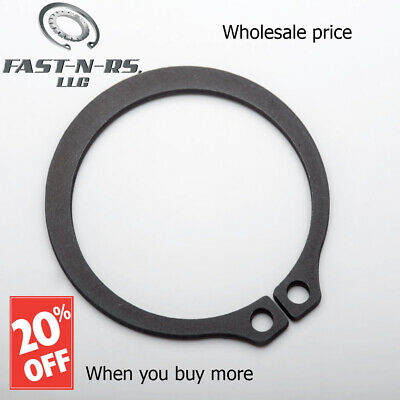 Pack of 75 External Retaining Ring//Snap Ring 3-7//16 Phosphate Finish
