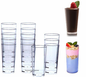 Mini small plastic dessert drink shooters jelly cups for Mini dessert recipes in shot glasses uk