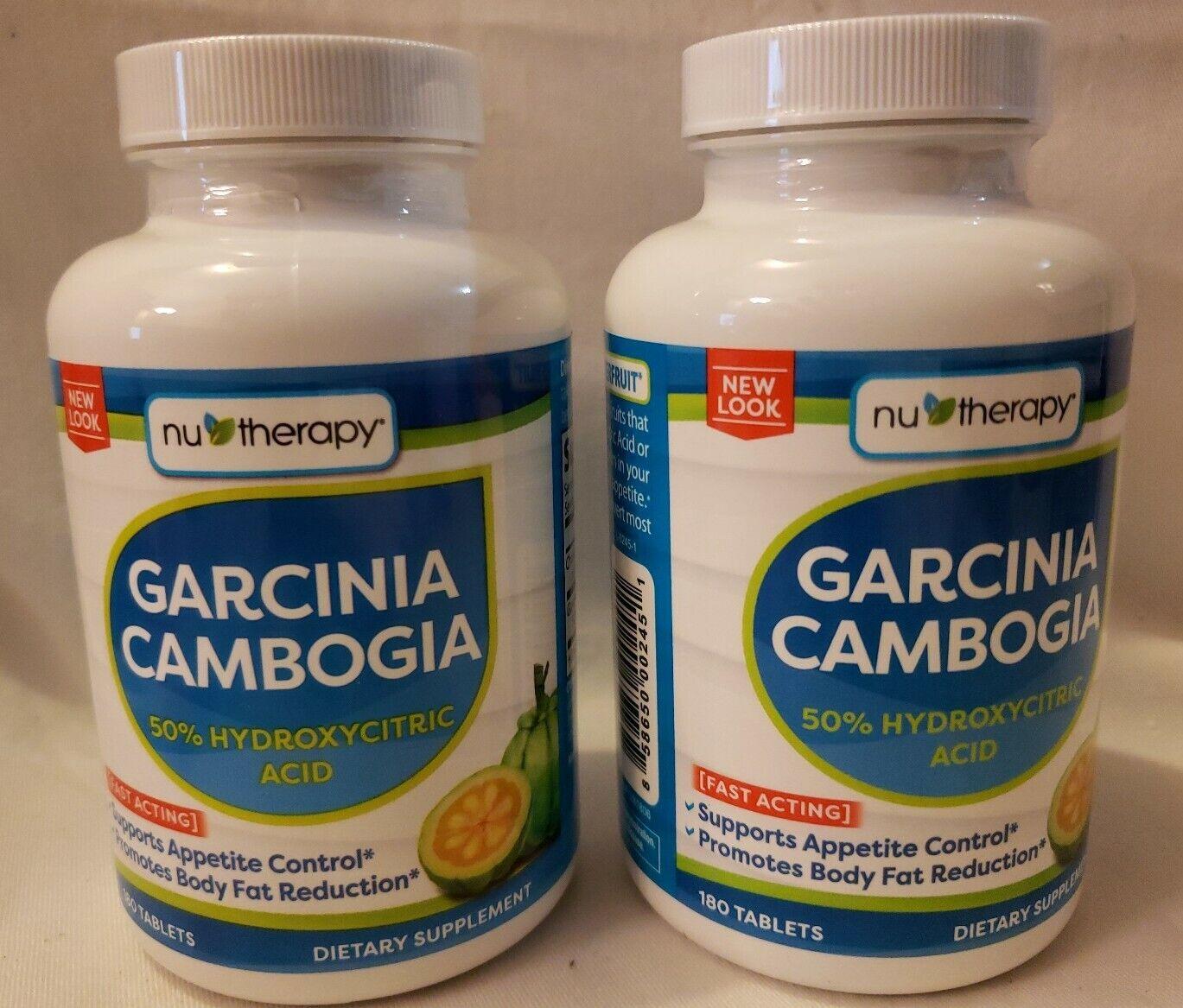 nu therapy garcinia cambogia 50 hydroxycitric acid reviews