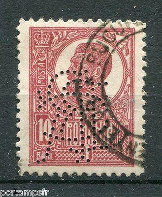 Rumänien Rumänien Romania,1919,briefmarke Klassisch 268,perforiert,entwertet,perfin