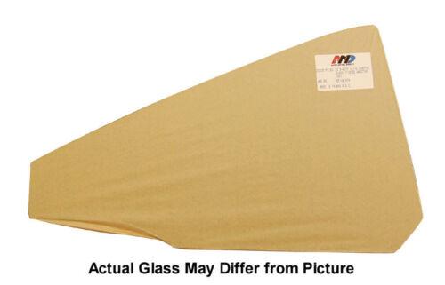 Green Tint 68-72 GM A-Body Convertible LH Quarter Glass