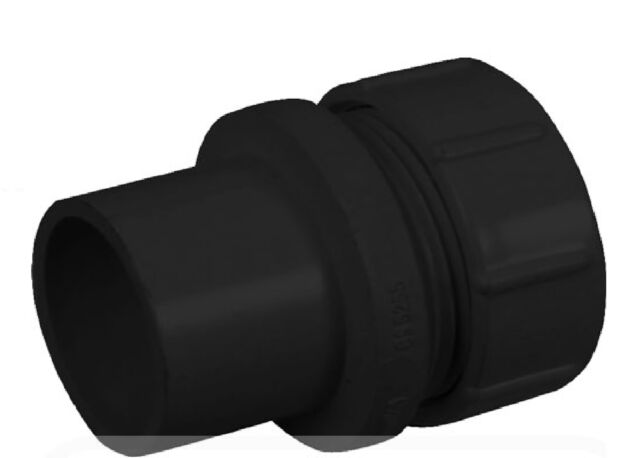 2X Solvent Weld Access Plug 32mm Black