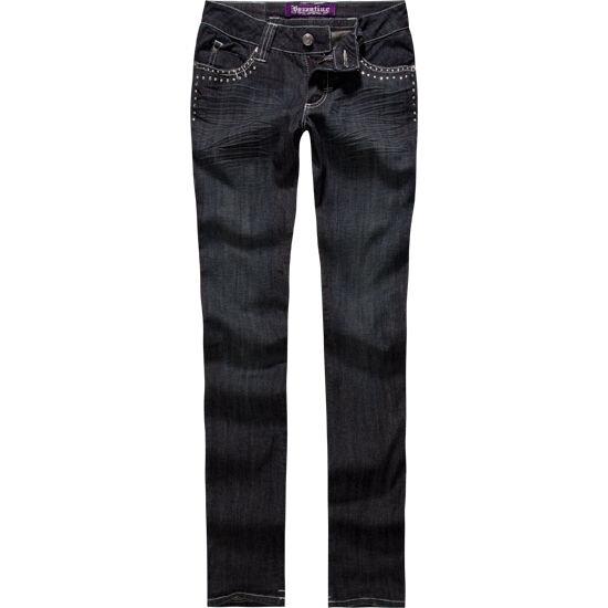 Byzantine Stud Cross Skinny Jean Size 9 Brand New