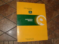 John Deere 8440 And 8640 4wd Tractor Operators Oem Manual Om R67870 Issue A0